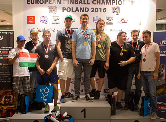The top three in the EPC Team Tournament: Hungary 2 (2nd), Sweden (1st) and Team France (3rd)