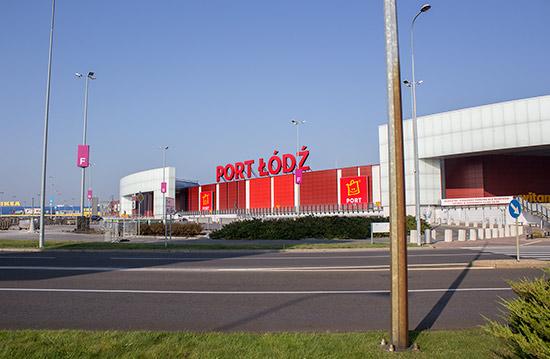 Port Łódź shopping centre