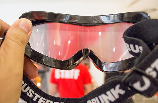 The Lorneta Challenge goggles