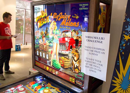 The Whoa Nellie! Challenge machine