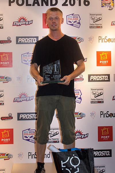 Winner of the Lorneta Challenge, Morten Petersen