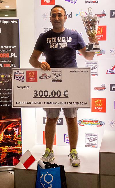 Second place, Cesare d'Atri