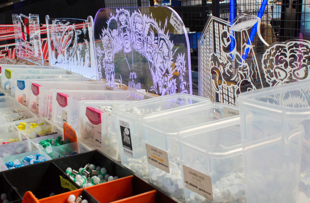 Perspex toppers