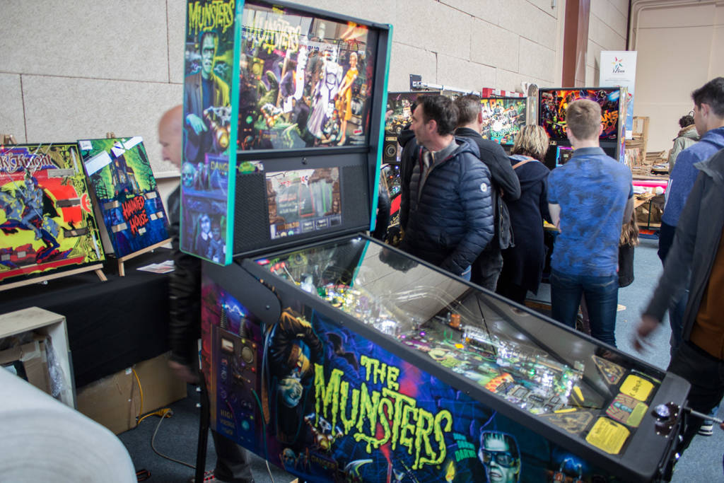 There were also the newest Stern games, including a The Munsters LE, a Pro, The Beatles and Guardians of the Galaxy