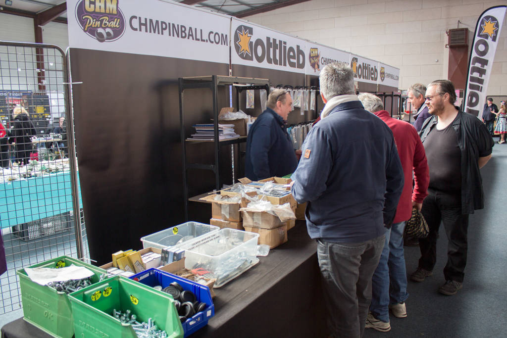 CHMPinball were championing Gottlieb pinball parts and spares