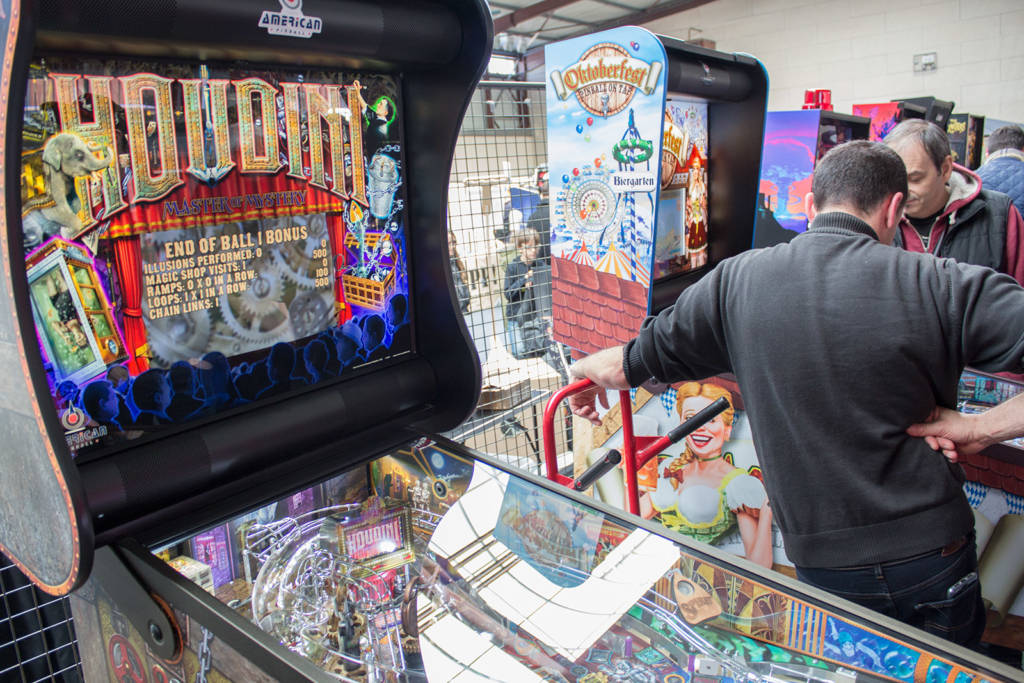 The two American Pinball titles were here