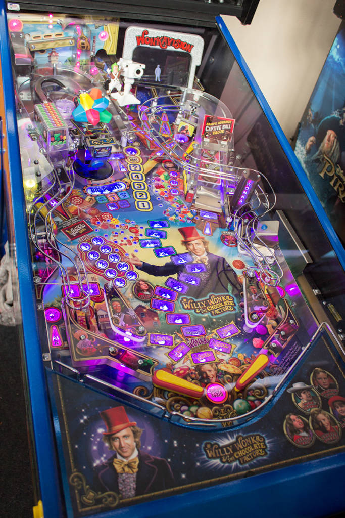 The playfield of the Limited Edition model at the show