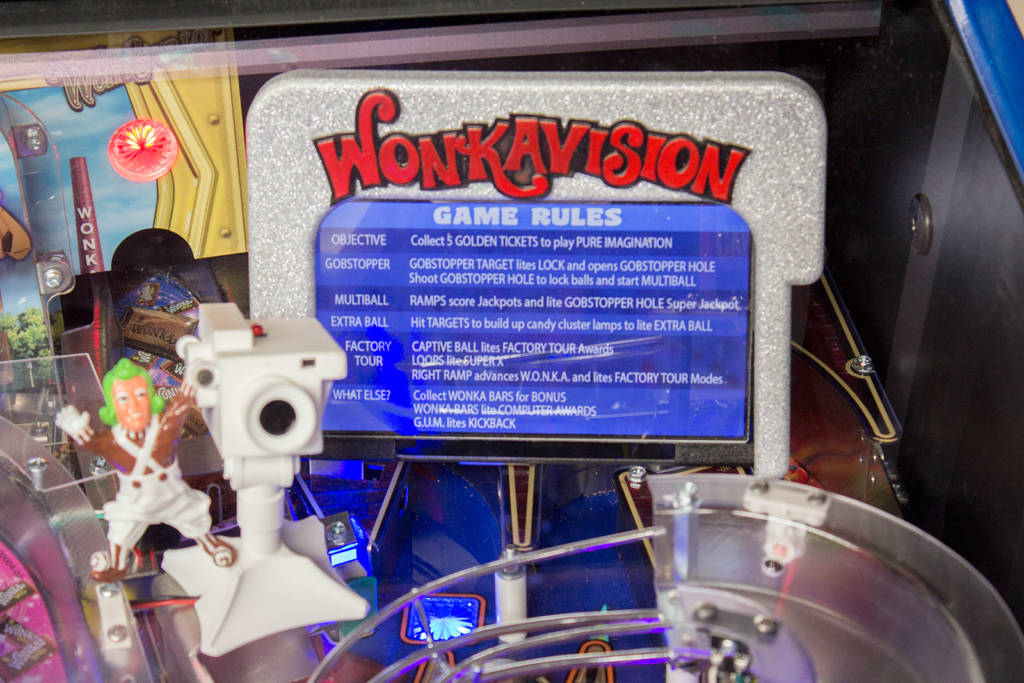 The Wonkavision screen showing the game rules