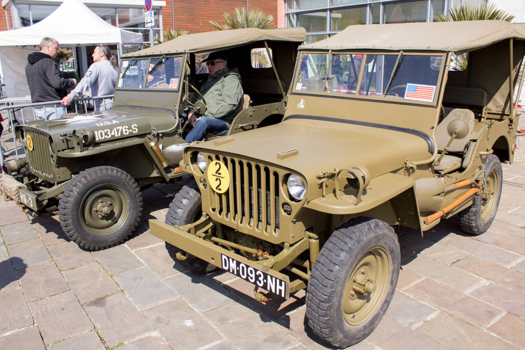 Two US Army Jeeps