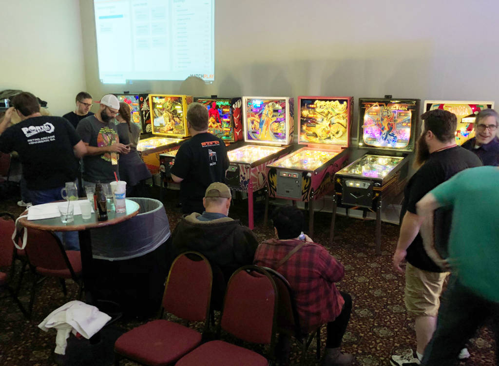 Grand Ogre Matchplay Pinball Tournament