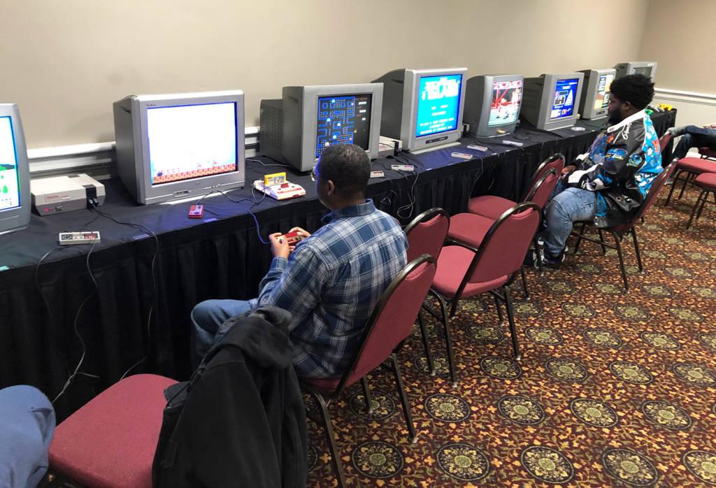 Classic console games