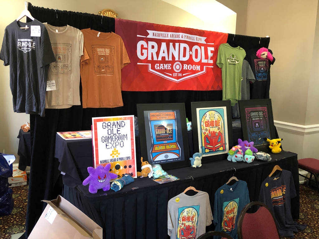 Show merchandise for sale