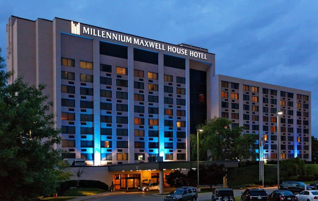 The Millennium Maxwell House Hotel, home of the Grand Ole Gameroom Expo