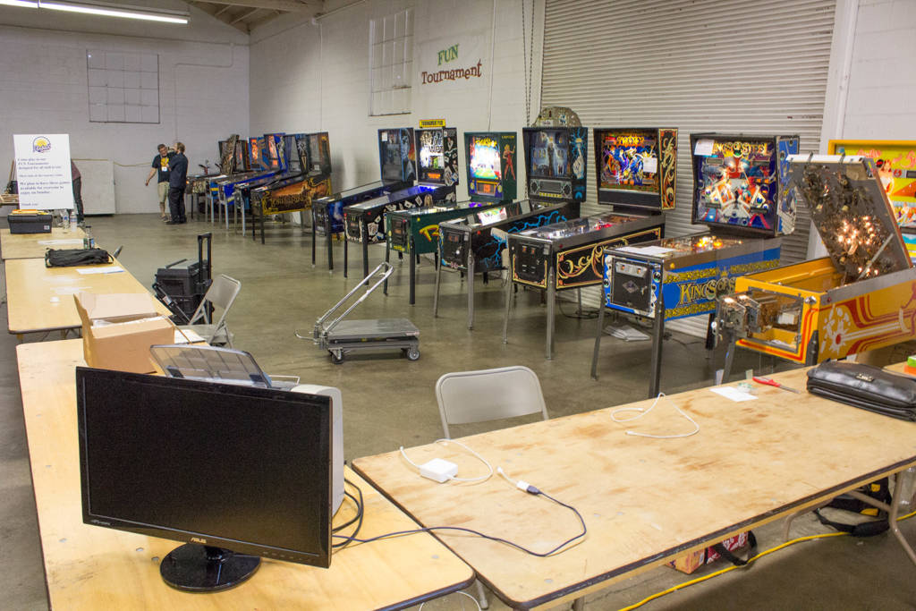 The tournament area