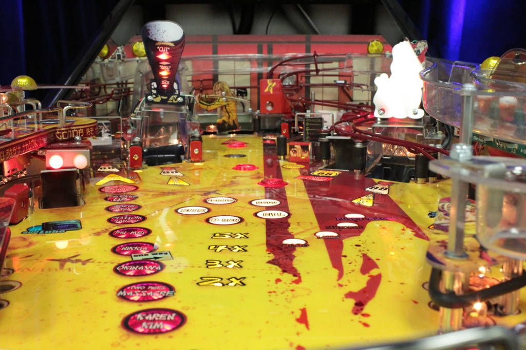 Kill Bill's playfield