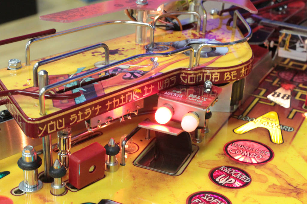Kill Bill's playfield feature