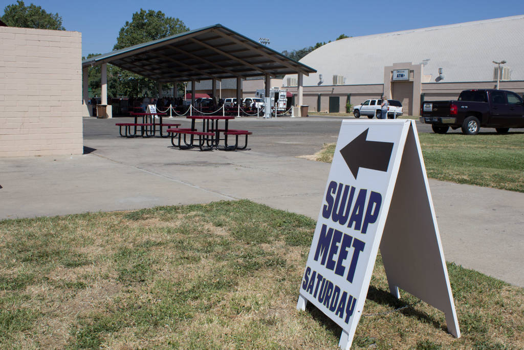The Swap Meet began at 10am on Saturday