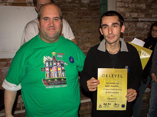 Second place, Krisztián Szalai