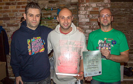 Winner of the Pingolf, Daniele Acciari