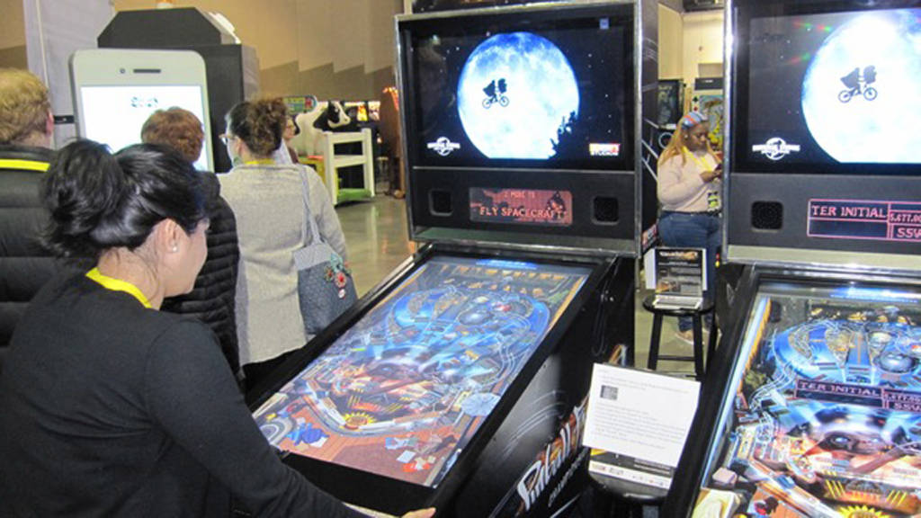 E.T. - one of the many virtual pin titles from Pinball FX