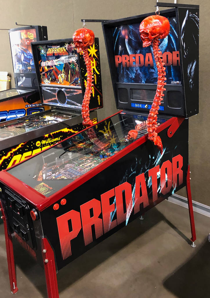 Predator was one of the games brought by Galloping Ghost Pinball Arcade