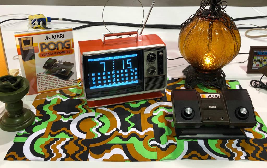 The original Pong home game system