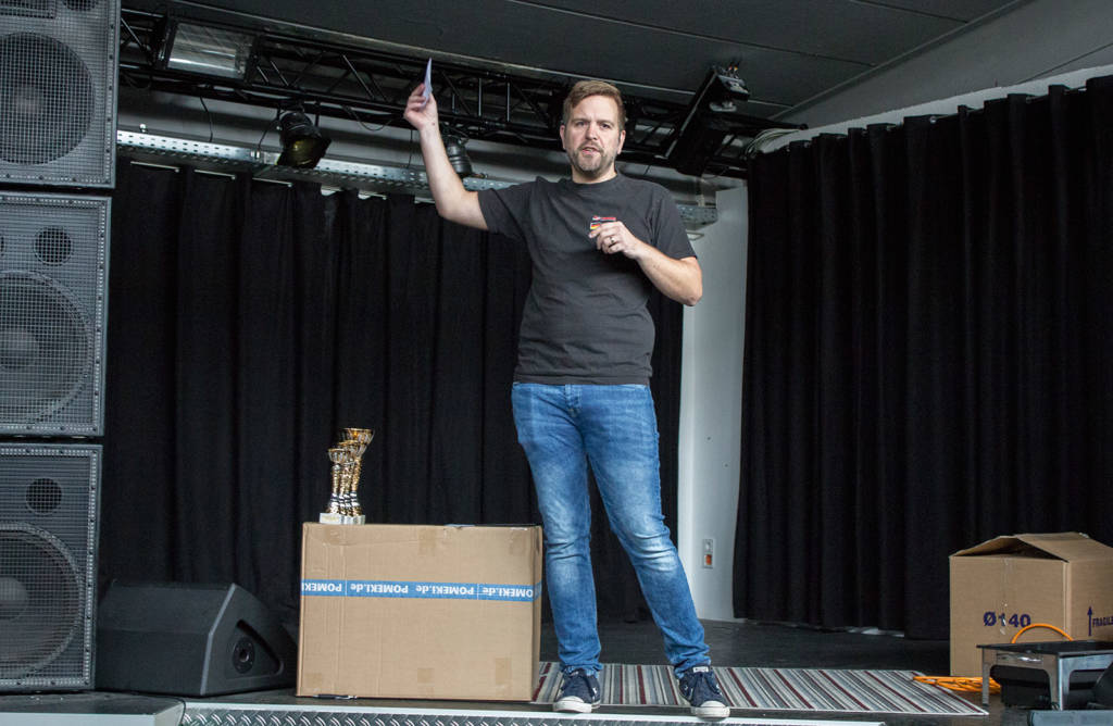 Overall Tournament Director, Tobias Wagemann