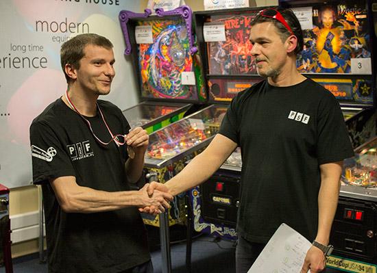 Second place, Piotr Kochański