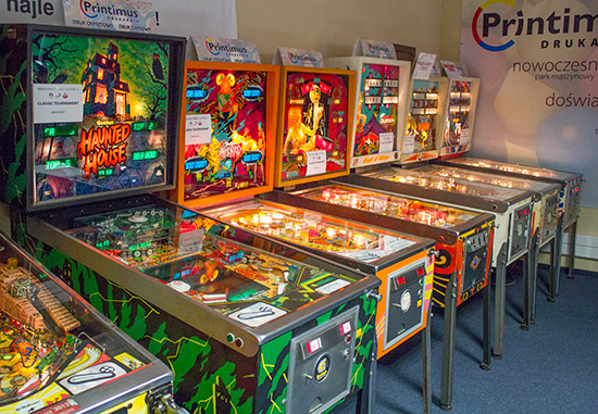 The six classics tournament machines