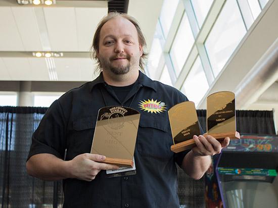 Nitro Amusements win three awards