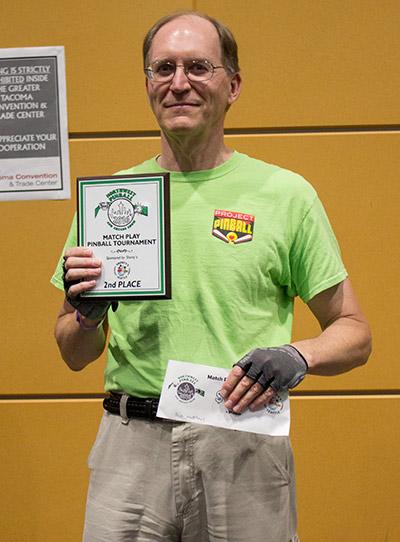 Second place, Bob Matthews