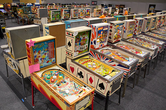 Some of the electromechanical games