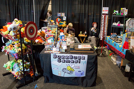 Buzz Buzz Games also had lots of toy characters and accessories