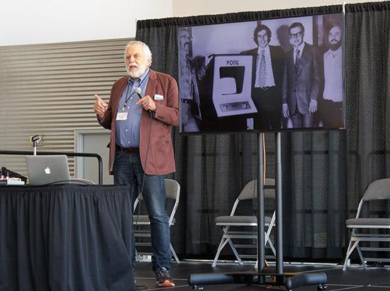 Nolan recounts how Pong was created