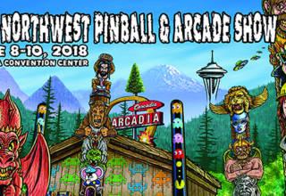 Northwest Pinball & Arcade Show 2018 poster