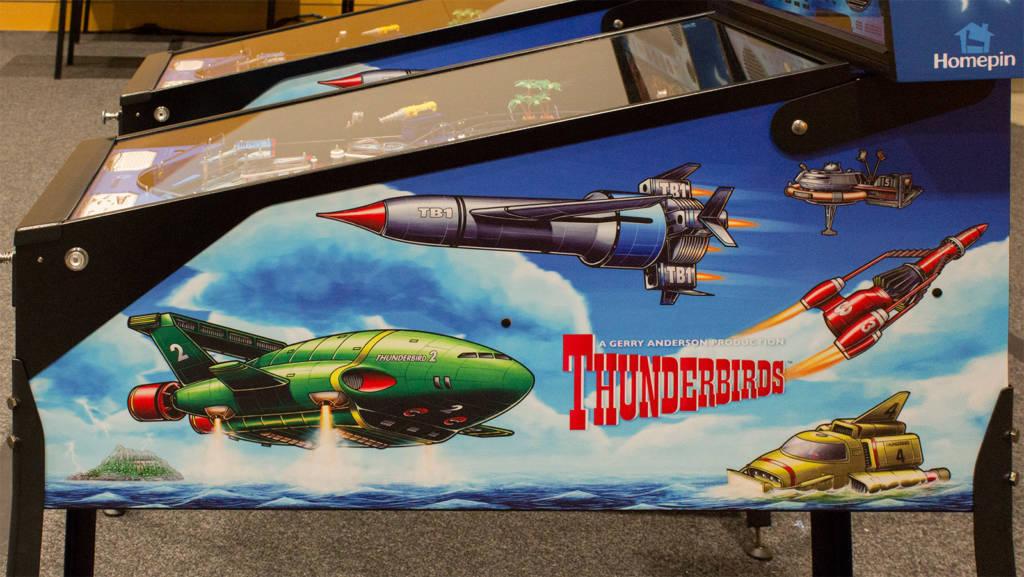 Thunderbirds cabinet side art
