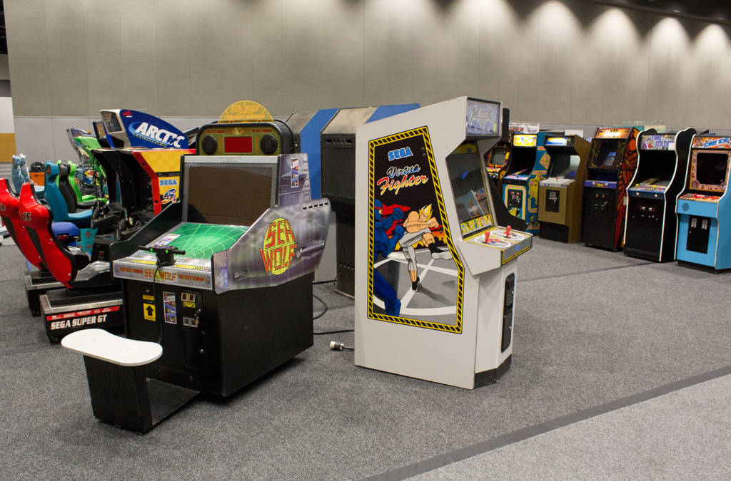 It's certainly not all pinball, with loads of video games too