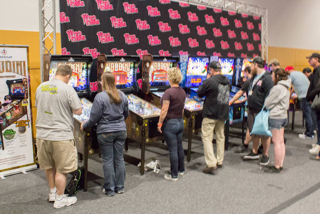 Nitro Pinball had games from Homepin, American Pinball, Spooky Pinball and Chicago Gaming