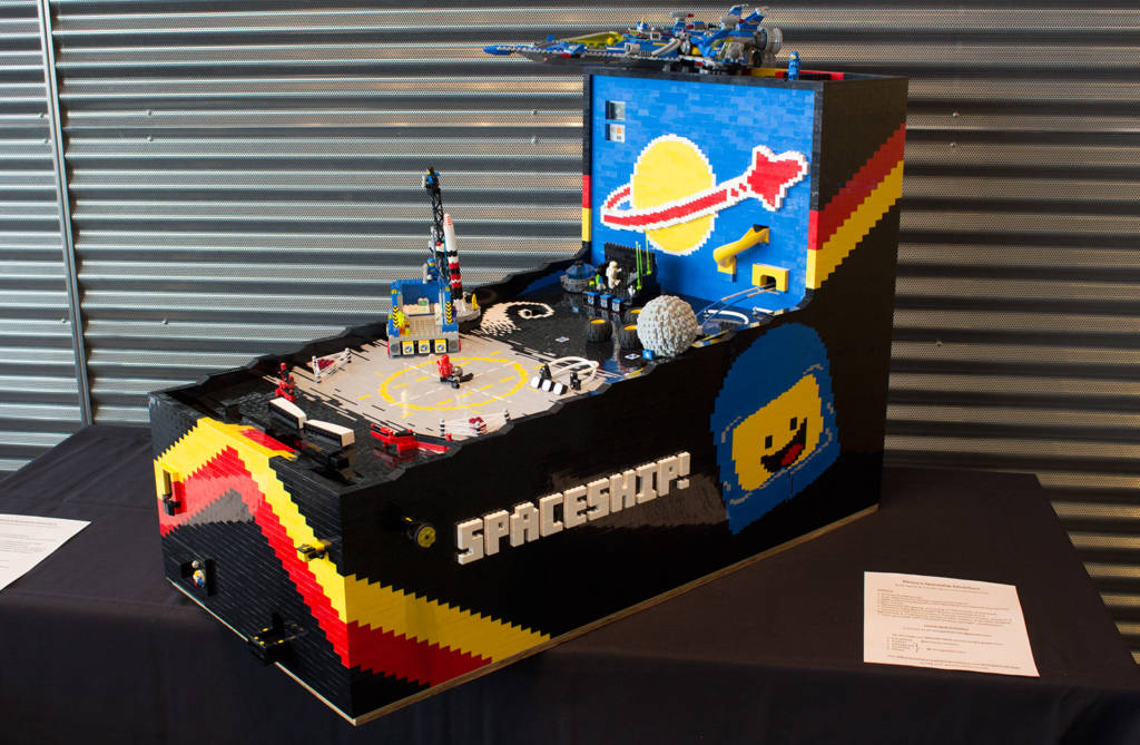 Benny's Spaceship Adventure in Lego by Renegade Bricks.