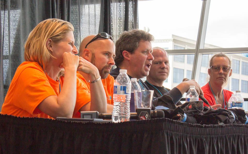 Sandi, Armand, Brian, Dan Halligan and Patti Okert