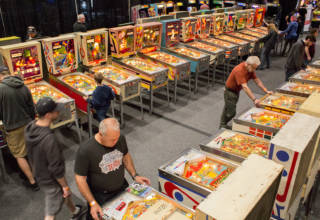 Part of the EM pinball area