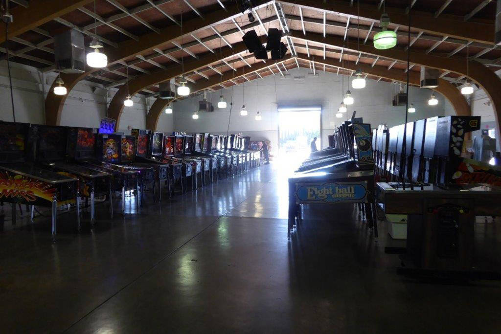 The PAGG show hall at the May Fair Grounds in Dixon