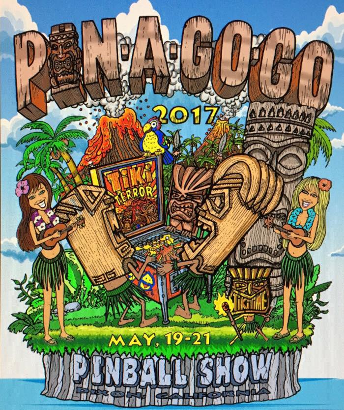 The poster for Pin-a-Go-Go 2017