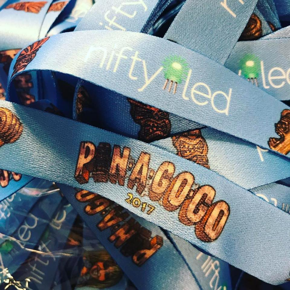 Pin-a-Go-Go 2017 lanyards