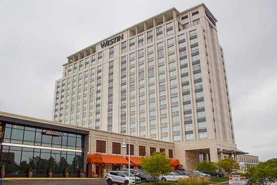 The venue for Pinball Expo 2016, the Westin Chicago North Shore
