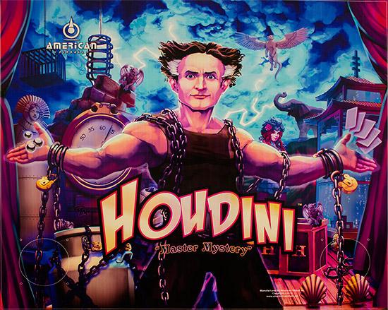 The Houdini translite