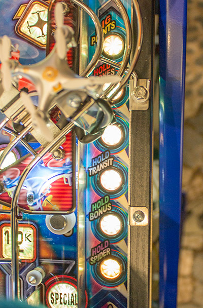 Playfield detail