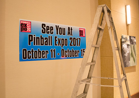The dates for the 33rd Pinball Expo