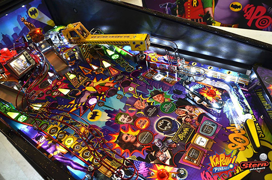 The Batman 66 playfield