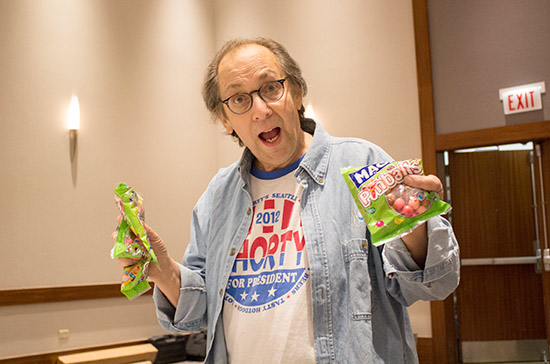 Jim with the Maoam Pinballs